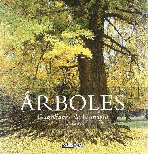 Portada del libro Árboles, guardianes de la magia (Ilustrados)