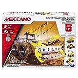 Meccano - 6026716 - Jeu de Construction - Chantier 5 Modèles