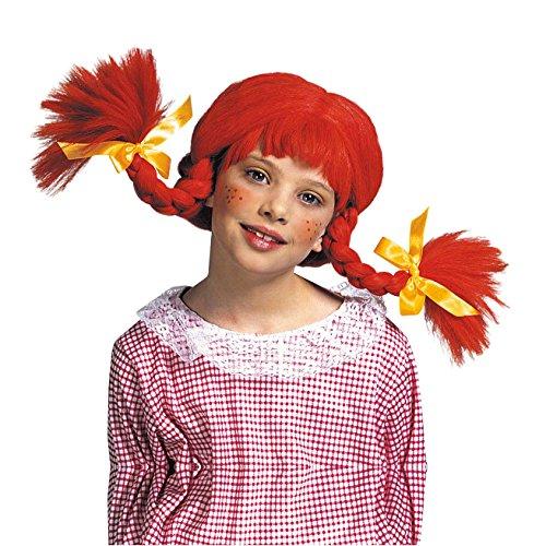 perücke Wirbelwind, One Size (Rote Wirbelwind Kostüm)