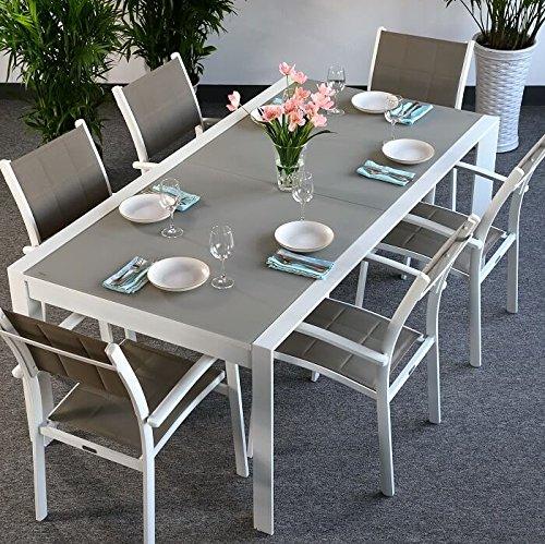Tavolo Da Giardino Alluminio Allungabile.Tavolo Da Giardino Alluminio Lascuolaversoexpo