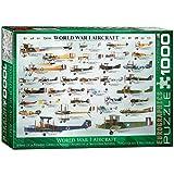 Eurographics Flugzeuge des 1. Weltkrieges - 1000 Teile Puzzle