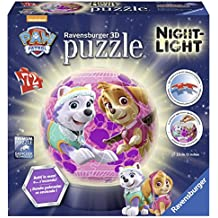 Ravensburger Italy 11814 - Lampada Notturna Paw Patrol Skye Puzzle 3D