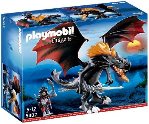 PLAYMOBIL DRAGONES - DRAGON GIGANTE ESCUPEFUEGO CON LUZ LED (5482)