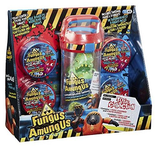 Fungus Amungus 22525.43 Laboratory Truck With 1 Exclusive Funguy Nasty Sticky