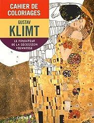 Cahier de coloriages Klimt petit format