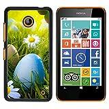 OB-star ( Búsqueda de huevos de Pascua ) NOKIA Lumia 630 Impreso Colorido Protector Duro Espalda...