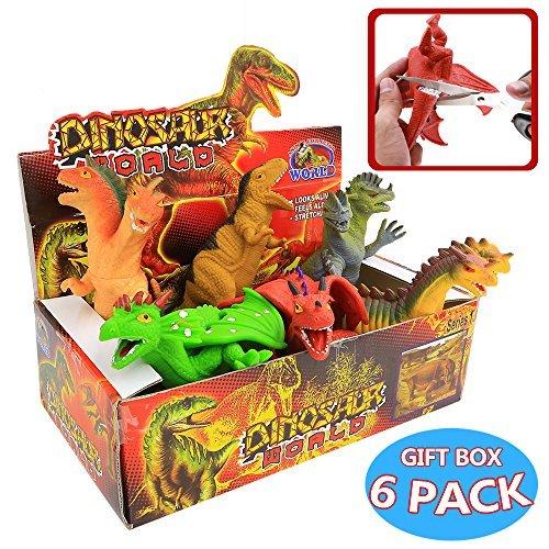 8-pollici-giocattoli-dinosauro-gomma-set6-pezzi-materiali-sicurezza-grande-tpr-super-elastico-con-ri