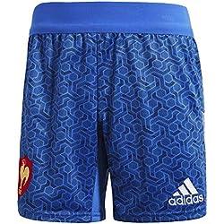 adidas Short fédération française de Rugby, Homme L Bleu/Blanc/Rouge (Azul/Blanco (Rojpot))