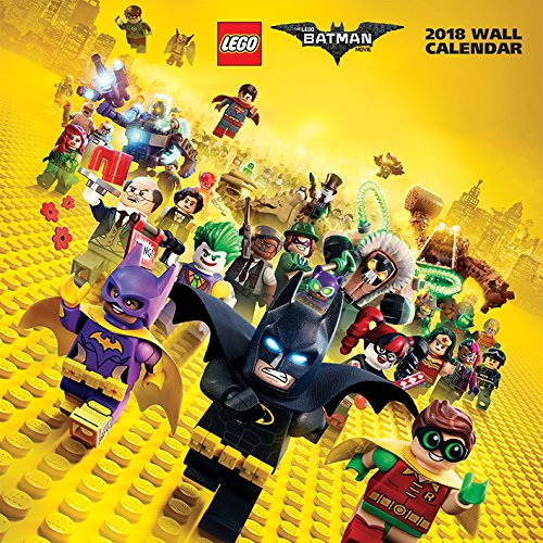 2018 LEGO Batman Official Calendar