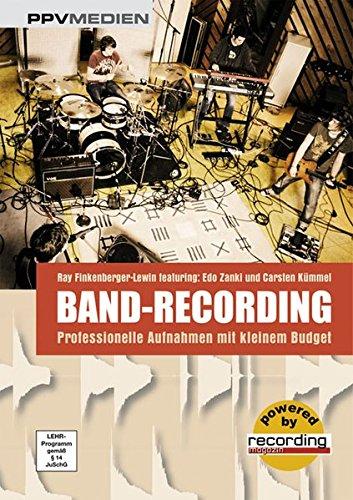 Band-Recording - Professionelle Aufnahmen mit kleinem Budget
