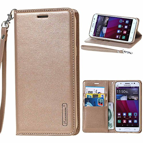 Go Crazzy Sony Xperia XA1 Dual New Hanman Genuine Leather Wallet Flip Case Cover For Sony Xperia XA1 Dual (golden)  available at amazon for Rs.899