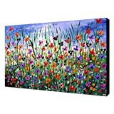 LightInTheBox® One Panel Botanical Ölgemälde Floral 1211-fl0016handgemaltes Bild auf Leinwand