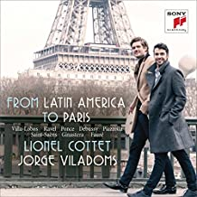 From Latin America to Paris - Music for Cello & Piano