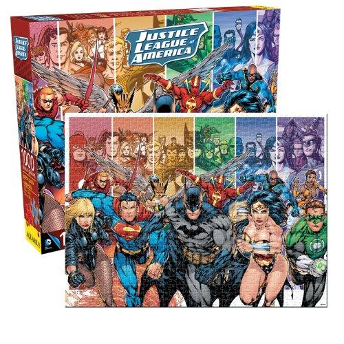 Dc Comics- Justice League of America 1000pc Puzzle, Figurines