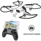 HELIFAR H816 Mini Drohne mit Kamera HD FPV Drohne Fernbedienung 2 Spielzeugautos