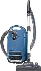 Miele Complete C3 Allergy EcoLine Bodenstaubsauger (mit Beutel, EEK A+, (4, 5 Liter Staubbeutelvolumen, 550 Watt, 12 m Aktionsradius, inkl. HEPA Filter und Handgriff mit integriertem Saugpinsel) blau