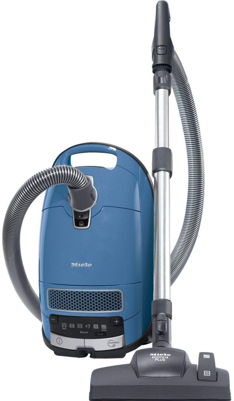 Miele Complete C3 Allergy EcoLine Bodenstaubsauger (mit Beutel, 4,5 Liter Staubbeutelvolumen, 550 Watt, 12 m…