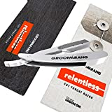 Groomarang Relentless Pro Cut Throat Razor Vintage Barber Quality Traditional Manual Blade