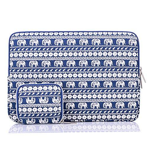hbbel-maletin-para-portatiles-11-116-pulgadas-con-elefante-azul-estilo-bohemio-tela-de-lona-para-mac