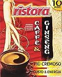 Ristora - Preparato Istantaneo per Bevanda, al Gusto di Caffe' e Ginseng - 100 g