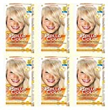 6 x Belle Color CR.COL.Blond Lightest Ash 111