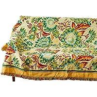 SDXGCFV Trajes Decorativos del Sofá De La Manta Bohemia De Las Hojas Escocesas En La Manta