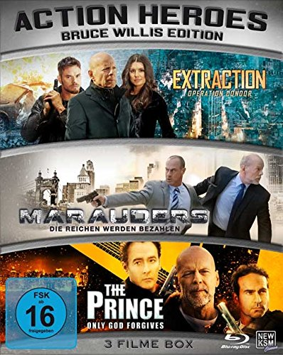 Action Heroes - Bruce Willis Edition - Limited Edition [Blu-ray]