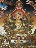 Alldecor Größe Asiatischen Buddhist Art Prints, Gott des