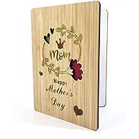 Biglietto d'auguri in legno per mamma speciale - Biglietto Auguri,Migliore Carta Regalo,Regalo Festa Della Mamma,Regali…