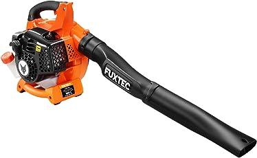 FUXTEC Benzin Laubbläser FX-LB126 inkl. 2 Blasrohre 2in1 Funktion auf Laubsauger erweiterbar, getestet Oberklasse 1,4