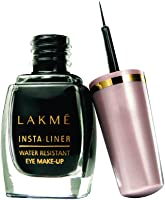 Lakme Insta Eye Liner, Black, 9ml