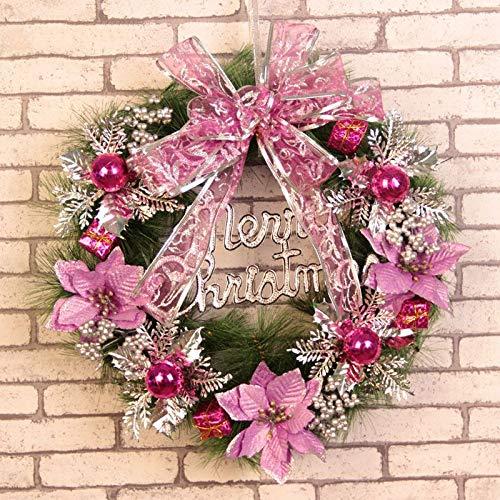 VHVCX Weihnachtsgirlanden, Weihnachtsschmuck, Weihnachtsgirlanden, Dekorationen, Einkaufszentren, Einkaufszentren, Weihnachten, Violett