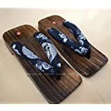 YYTIANYY flip flop Japanese Traditional Barefoot Wodden Shoes Kimono Geta Clogs WomanAnime Cosplay Beach Outdoor Sandals Saun