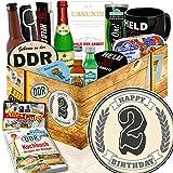 Geburtstagsgeschenk 2. | Geschenke 2 Geburtstag für Ihn | Ossi Box für Männer