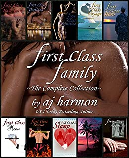 First Class Family: The Complete Collection - A New Romance Novel Boxed Set (First Class Novels – A New Contemporary Romance Series) by [Harmon, AJ]