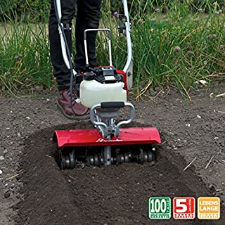 MANTIS 4-Cycle Tiller Deluxe XP 7567 - Powered by Subaru – Lightweight and Powerful - No Fuel Mix, Sure-Grip Handles – Built to be Durable and Dependable
