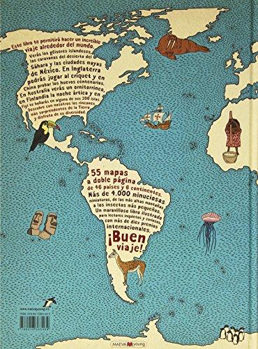 Atlas del mundo: un insólito viaje por las mil curiosidades y maravillas del mundo