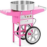 Royal Catering Machine à Barbe à Papa Professionnelle RCZC-1200-W (diamètre de la cuve 52 cm, 1.200W, rendement horaire…
