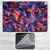 Mesmerising Crystals Laptop Skin + Silic...