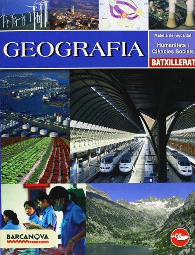 Portada del libro Geografia Batxillerat. Llibre de l ' alumne (Materials Educatius - Batxillerat - Modalitat Humanitats I Ciències Socials)