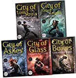 Cassandra Clare Mortal Instruments 5 Books Collection Pack Set RRP: 42.95 (C...