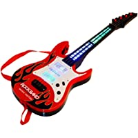 Skent® Musical Instrument Guitar Toy for Kids with Strings, Lights and Music (24 Inches)