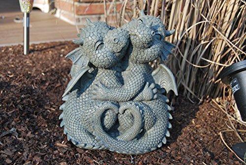 MC Drachen! Süß! Kuschelnd! Garten! Figur! Drache! Fantasy!