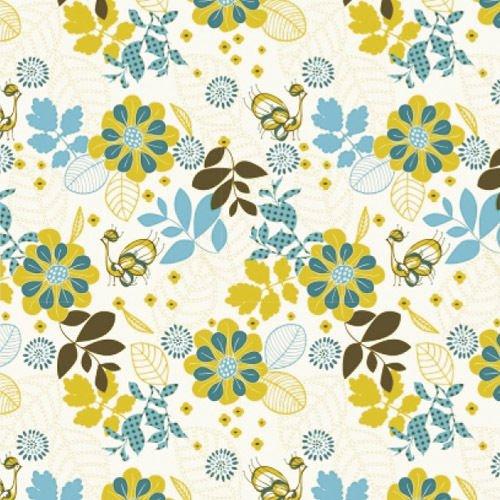 MAURER - Mantel Hule Rollo 140cmx20m Flores Color