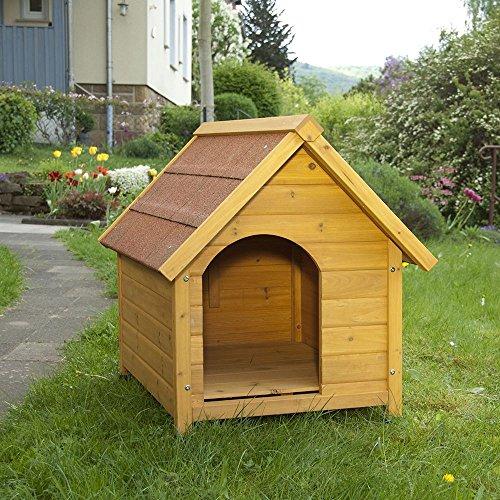 SPIKE Caseta de Madera para Perros (L: 75 x 95 x 83 cm (An x P x Al))