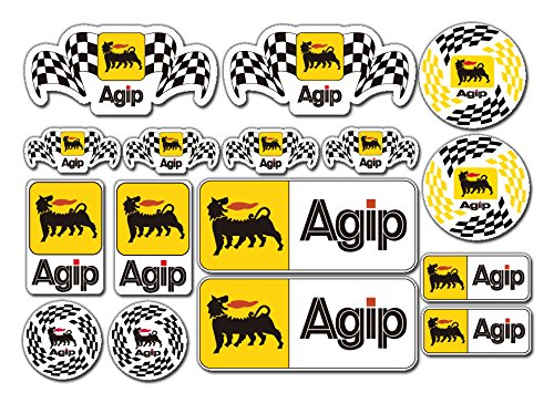agip-sticker-set-16x-motorbike-car-toolbox-ducati-aprilia-alfa-decals-by-stickerzzz