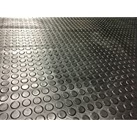 Coin Rubber Garage Flooring Matting | 16 Sizes to Choose from on This Listing | 3mm Thick Floor Mat