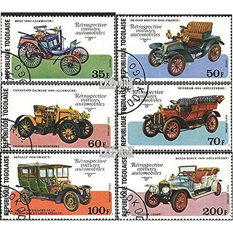 Togo 1221A-1226A (completa.Problema) 1977 Compleanno V. L.