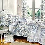 Dreams'n'Drapes MN1BE31PHD - Colección de ropa de cama, polialgodón, King, color azul