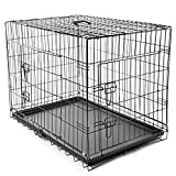 TRESKO® Transportkäfig Hundebox für Hunde